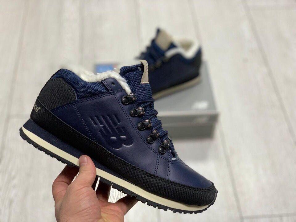 Зимние кроссовки New Balance 754 на меху синие