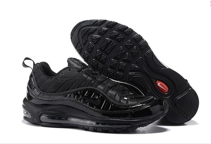 Nike Air Max 98 Supreme All Black