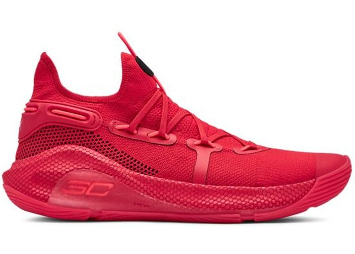Under Armour Curry 6 Red