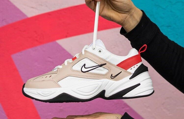 Кроссовки Nike M2K Tekno White Beige