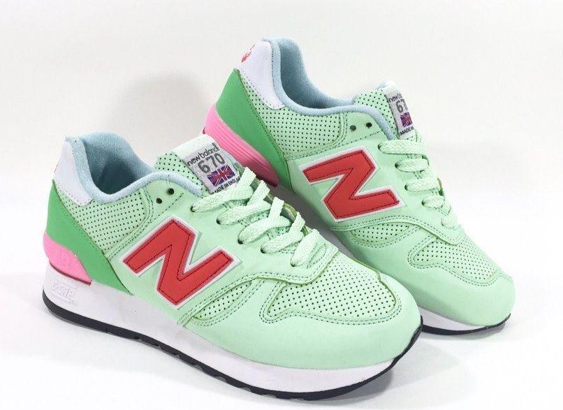 New Balance 670 женские светло-зеленые