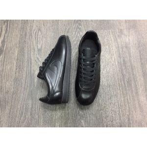 Кроссовки Nike Cortez кожаные черные