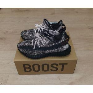 Adidas Yeezy 350 v2 Boost Black рефлектив
