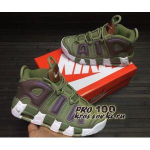 Кроссовки Nike Air More Uptempo Хаки