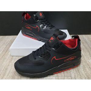 Nike Air Max 90 Sneakerboot Black Red