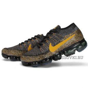 Nike Air Vapormax Flyknit (Brown/Gold)