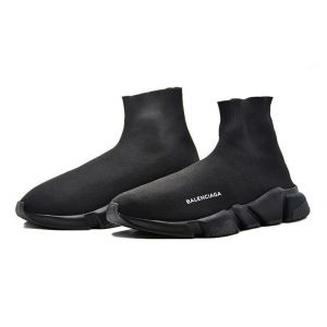 Кроссовки женские Balenciaga Speed Trainer (Triple Black)