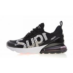 Supreme x Nike Air Max 270 (Black/White)