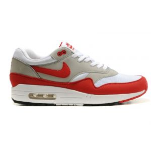 Nike Air Max 87 жен (серые/оранж)
