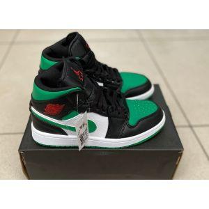 высокие зеленые Nike Air Jordan 1 High
