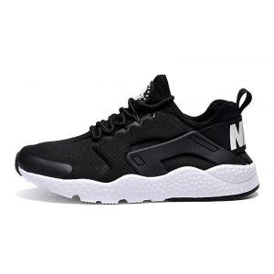 Купить кроссовки Nike Air Huarache ULTRA (черные/белые)
