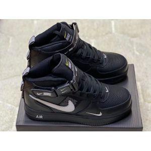 Зимние кроссовки на меху Nike Air Force 1 Mid '07