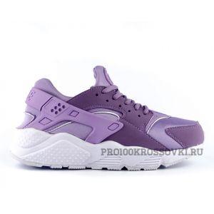 Купить женские кроссовки Nike Air Huarache сиреневые