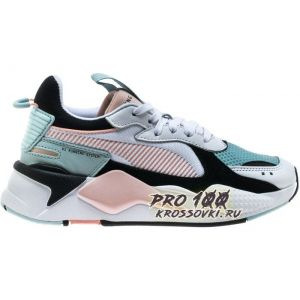 Puma RS-X Reinvention White Pink Aqua