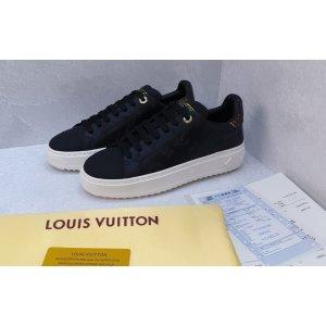Женские кроссовки Louis Vuitton Black White