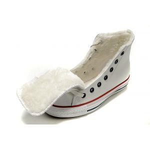 Кеды Converse зимние белые