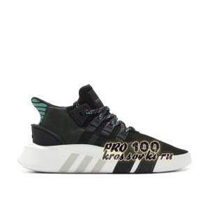 Кроссовки Adidas EQT Equipment ADV black -Green