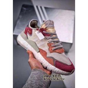 Adidas Nite Jogger White Trace Pink