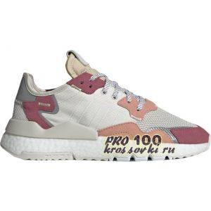 Adidas Nite Jogger White Trace Pink