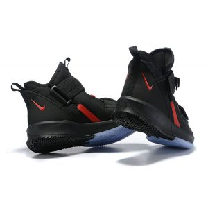 Nike LeBron Soldier 13 Black Red Men's Basketball Shoes