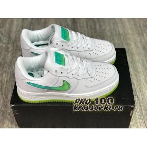 Air Force 1 Low Jelly Swoosh White женские