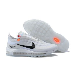 кроссовки Off White x Nike Air Max 97 White