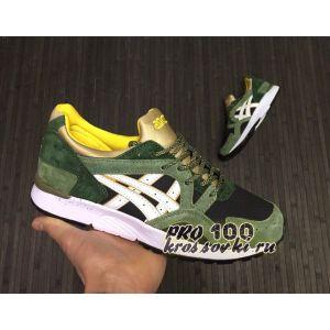Купить мужские кроссовки Asics Gel Lyte 5 серозеленые