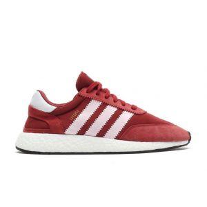 Кроссовки Adidas Iniki бордовые