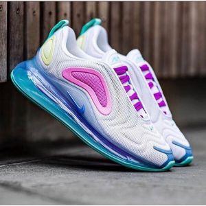 Женские кроссовки Nike Air Max 720 White-Aqua-Pink