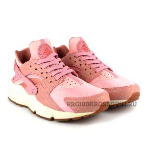 Купить женские кроссовки Nike Air Huarache (Розовые)