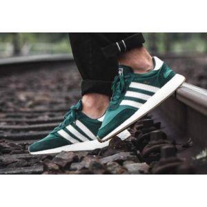 Кроссовки Adidas Iniki Runner зеленые