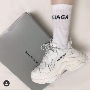 Кроссовки женские Balenciaga Triple S White