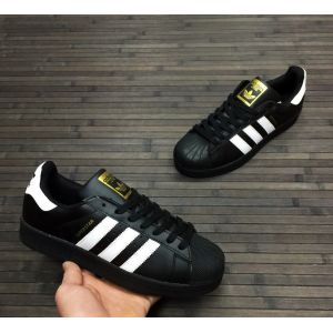 Кроссовки Adidas Superstar II черные