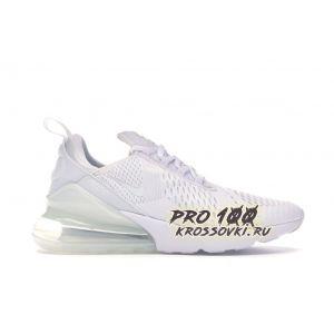 Кроссовки Nike Air Max 270 Triple White