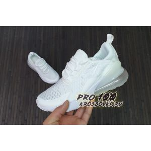 Кроссовки Nike Air Max 270 Triple White