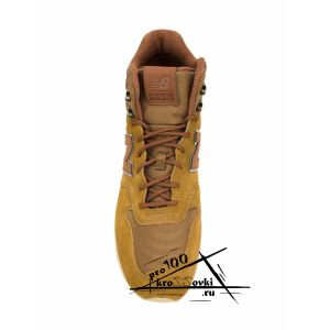 кроссовки New Balance 696 желто-коричневые