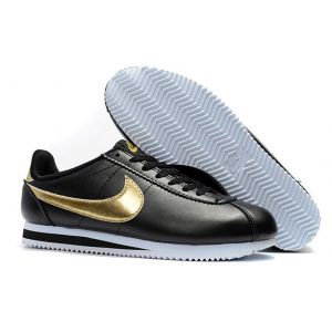 кроссовки Nike Cortez Black Gold
