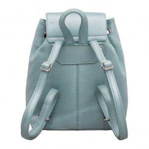 Женский кожаный рюкзак Lakestone Clare Light Blue
