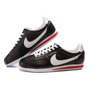 кроссовки Nike Cortez (Black/White)