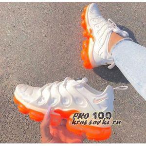 Nike Air Max Vapormax Plus Orange White