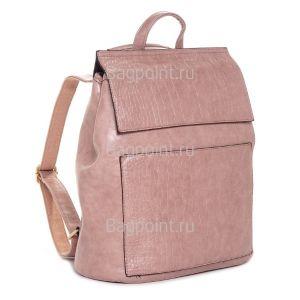 Стильный женский рюкзак Kalier из экокожи розовый