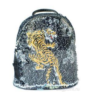 Рюкзак с пайетками, меняющий рисунок