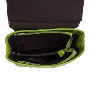 Женская сумка-рюкзак Kalier из экокожи цвет пудра