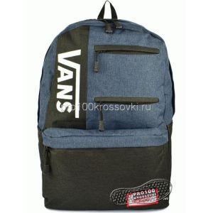Рюкзак городской Vans черный с синим