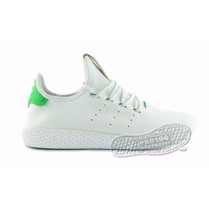 Мужские кроссовки Adidas x Pharrell Williams Tennis Hu Primeknit White