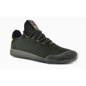 Кроссовки Adidas x Pharrell Williams Tennis Hu Primeknit Black/Orange