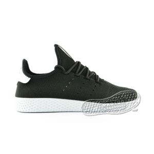 Кроссовки Adidas x Pharrell Williams Tennis Hu Primeknit Black/White