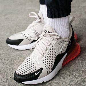 Кроссовки Nike Air Max 270 бело-черно-красные