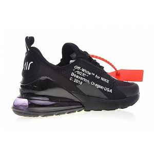 кроссовки  Off White x Nike Air Max 270 (Black)