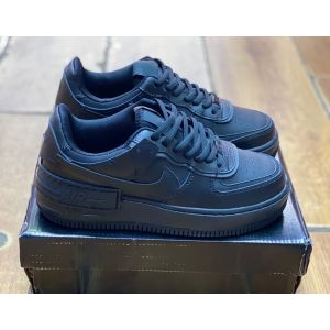 Nike Air Force 1 Shadow Triple Black